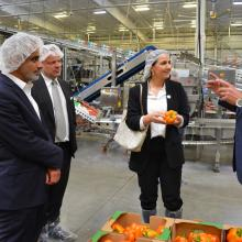 Minister of State for Future Food Security Discusses Potential Technology Transfer of Latest U.S. Farming Developments