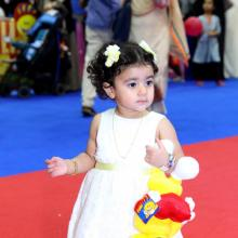 Modhesh World celebrates the first steps of little visitors