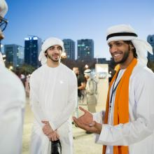 Over 300 emirati students to help raise awareness on national history, traditions and culture AT QASR AL HOSN FESTIVAL 2016