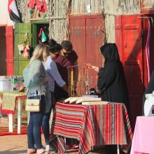 Permanent Traditional Market in Al Dhafra Festival