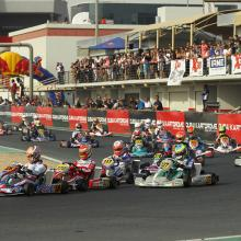 Record Entries for 2017 O Plate Championship at Dubai Kartdrome