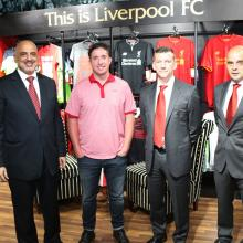 Robbie Fowler officially opens Liverpool FC store in Abu Dhabi