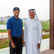 Tiger Woods Tours His Golf Course Design at DAMAC Properties' AKOYA Oxygen