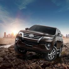 Toyota Launches all-new Fortuner in Egypt