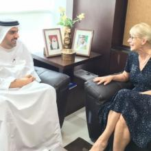 The Undersecretary of the Ministry of Health and Prevention and the Ambassador of Finland to UAE discuss opportunities for collaboration in the Health Sector
