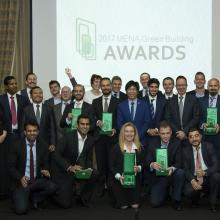 Winners of 2017 MENA Green Building Awards Honoured for  Innovation and Excellence in Sustainability Practices