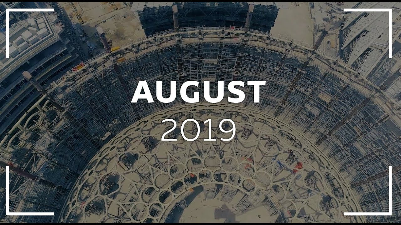 Embedded thumbnail for Expo 2020 Drone Footage - August 2019