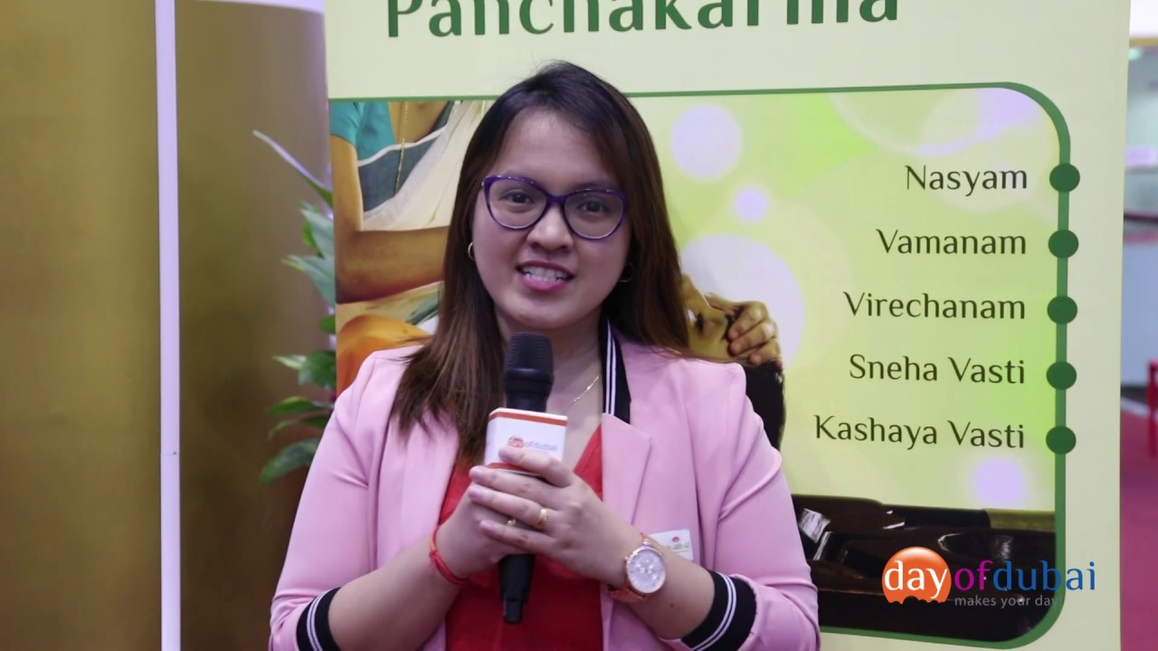 Embedded thumbnail for Unique World and Day of Dubai Business Event - Dr. Sathya's Ayurvedic Wellness Centre Interview